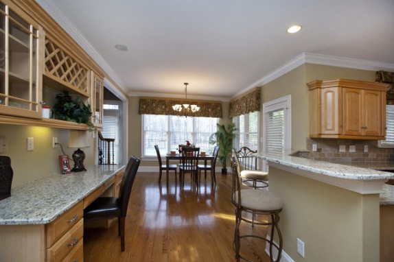 Sold vacant staging in waxhaw centerpiece home