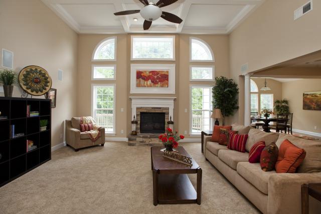 Realist Beige Living Room
