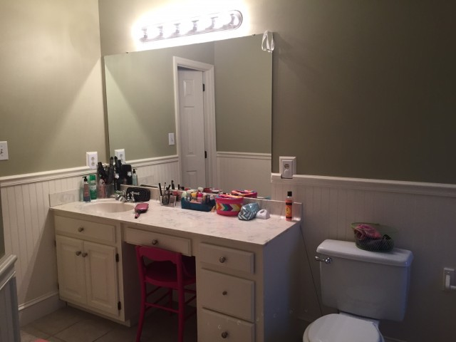 "Bathroom vanity ""Before"""